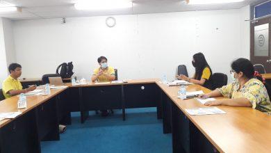 Photo of การประชุมหน่วยตรวจสอบภายใน มหาวิทยาลัยราชภัฏมหาสารคาม ประจำเดือน กรกฎาคม 2563 วันที่ 13 กรกฎาคม 2563