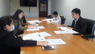 Photo of ประชุมหน่วยตรวจสอบภายใน วันที่ 22 ธันวาคม 2563